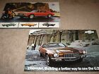 1972-1973 Chevrolet Camaro Dealer Sales-Showroom Brochure Lot (2) SS, Z28