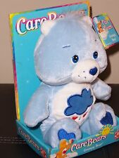 "CARE BEARS ""GRUMPY BEAR"" NIB 8"" BEAN BAG BEAR, 2002"