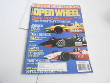 JUNE 1996 OPEN WHEEL vintage car racing magazine