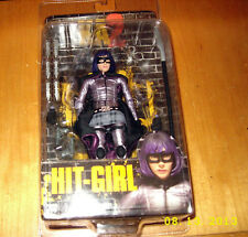 "Kick Ass 2 - 7"" Scale Hit Girl Action Figure - NECA SEALED NEW!! MOC!"