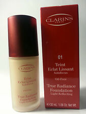 CLARINS MULTI BUY - TRUE RADIANCE FOUNDATION - 2 x 30ML FOR £24.99 - DON'T MISS*