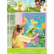Disney Fairies Tinker bell Pin the Wand Birthday Party Game Activity Decorations