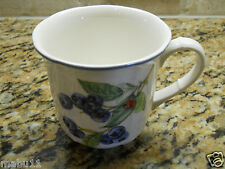 """Villeroy & Boch Country Collection Cottage 3 1/2"""" x 3 3/8"""" Mug FRUIT"""