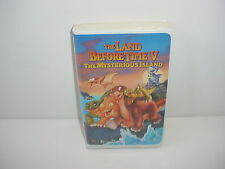 The Land Before Time V The Mysterious Island VHS Video Tape Movie Clamshell