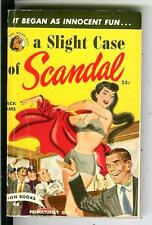 A SLIGHT CASE OF SCANDAL by Iams rare US Lion #46 crime noir gga pulp vintage pb