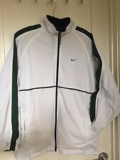 NIKE Track Suit Reversible Lined Navy Blue & White Men's M fits Large Rare