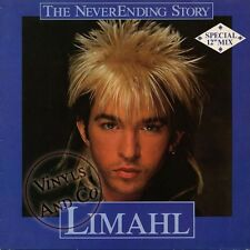 LIMAHL - Never Ending Story [Extended] MAXI 45 TOURS Germany Maxi-Single 12""