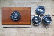 4x Optik Voigtländer COMPUR für Flachbodenplattenkamera