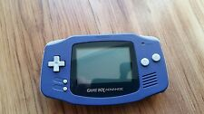 Nintendo Game Boy Advance Purple Handheld System cleaned and fully working