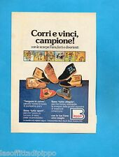 TOP977-PUBBLICITA'/ADVERTISING-1977- BORRI - LE SCARPE FANS