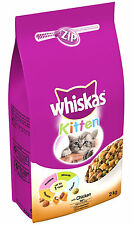 Whiskas Dry Cat Food 2kg Kitten