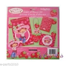 STRAWBERRY SHORTCAKE GUEST OF HONOR KIT ~ Birthday Party Supplies Favors Award