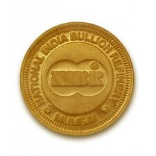 NIBR Gold Coin of 10 Grams in 24 Karat 999 Purity - 10 Gms/ 10 gm