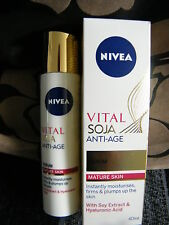 NIVEA ESSENZIALE Soia Anti age siero 40 ml * Pelli Mature *