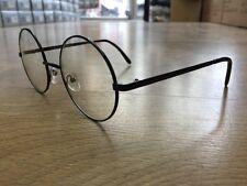 Round Lens Metal Frame Sunglasses John Lennon Oozy 60s Harry Potter Vtg Retro