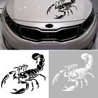 New Black 3D Scorpion Car Stickers Car Styling Sticker for Cars Decoration DIY