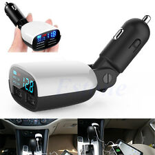 Car Charger 3.4A Dual USB Adapter Cigarette Lighter LED For Phone iPad Tablet