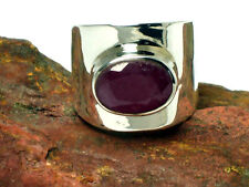 RUBY    Sterling  Silver   925    RING  -  M / 6   -  Gift Boxed!!
