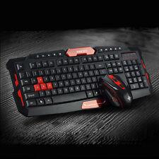 NEW RUYI Multimedia  Black wireless 2.4g  Pro Gaming Keyboard Mouse set