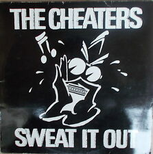 LP The Cheaters ‎– Sweat It Out,White Vinyl ,NEAR MINT,cleaned,Albion Records