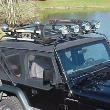 "Warrior Safari Sport Rack System 76-95 Jeep CJ7 Wrangler YJ 45""x55""x5"""