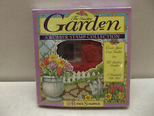 THE COUNTRY GARDEN RUBBER STAMPEDE A RUBBER STAMP COLLECTION NIP