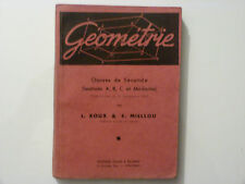 GÉOMÉTRIE / CLASSES DE SECONDE / ROUX - MIELLOU  / 1947