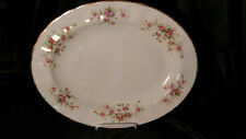 "Paragon Victoriana Rose 13 3/4"" Oval Serving Platter - Excellent Condition"
