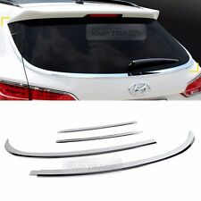 Chrome Rear Window Glass Molding Garnish Cover Trim for HYUNDAI 2013-17 Santa Fe