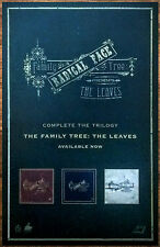 RADICAL FACE The Leaves 2016 Ltd Ed RARE New Poster +FREE Indie Rock Poster!