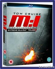 MISSION IMPOSSIBLE - EXTREME BLU RAY TRIOLOGY *BRAND NEW  REGION FREE