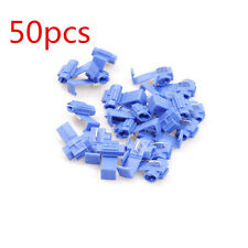 50 PCS Scotch Lock QUICK SPLICE 18-14 AWG WIRE CONNECTORS