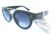 NEW women's OSCAR DE LA RENTA 1272 black sunglasses