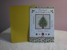 For Arts Sake - Christmas Card for Son & Daughter-in-law - A Tree is on front