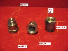 prolunga paraolio per candela tipo corto  in bronzo tornito-