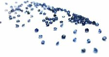 1+ Carats 1mm BLUE SAPPHIRES round brilliant cut approximately 150 pieces