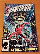 Daredevil #214 ~ NEAR MINT NM ~ 1985 MARVEL COMICS