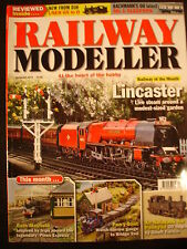 Railway Modeller Aug 2013 Bath Mayfield, Pen-Y-Bont, Lincaster-live garden steam