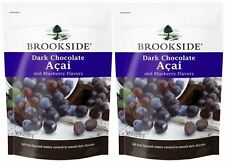 (2 x 32 oz)  Brookside Dark Chocolate Acai and Blueberry Flavors,TOTAL 4 Pounds