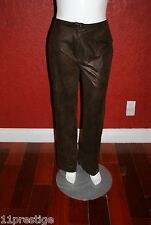 VEX COLLECTION PANTS BROWN  POLYESTER SIZE 38