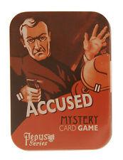 Pepys Accused Mystery Juego De Cartas