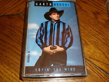 Garth Brooks CASSETTE NEW Ropin The Wind