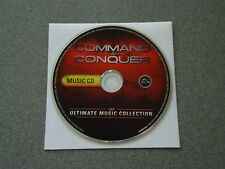 Command & Conquer 20-Song Compilation The Ultimate Music Collection Music CD C&C