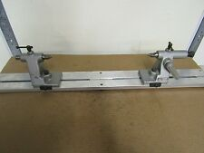 """K.O.LEE B922 CENTERS WITH 38"""" ALUMINUM BENCH CENTER STAND  GREAT FOR COMPARATOR"""