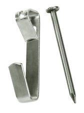 100 10 lb wall picture frame hangers hooks nails free shipping hanging