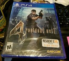 RESIDENT EVIL 4 SONY PLAYSTATION 4 PS4 US RETAIL GAME FACTORY SEALED BRAND NEW
