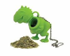 Barbuzzo Dinosaur T-Rex Tea Infuser Party Favor Gift Novelty Green [J1]G&