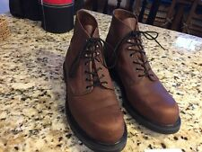 Red Wing Super Sole 952 Brown Leather Boots Made In USA Men Size 11 Width D
