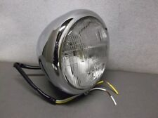 Chrome 12 Volt Teardrop Headlight for Harley FXDWG, FXST, FXWG & FXSTS Models