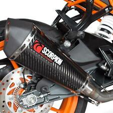 KTM RC 125 FITS 2014 15 ONWARDS NEW SCORPION SERKET GP COMPLETE CARBON EXHAUST
